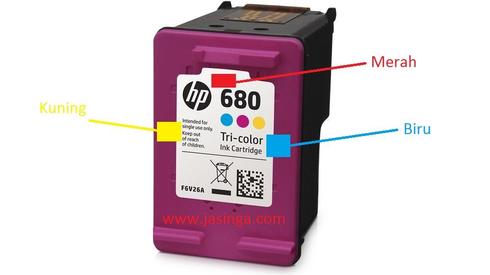 Posisi Tinta Cartridge Warna Hp 680 Printer Hp 2135 Adventage Jasinga Com