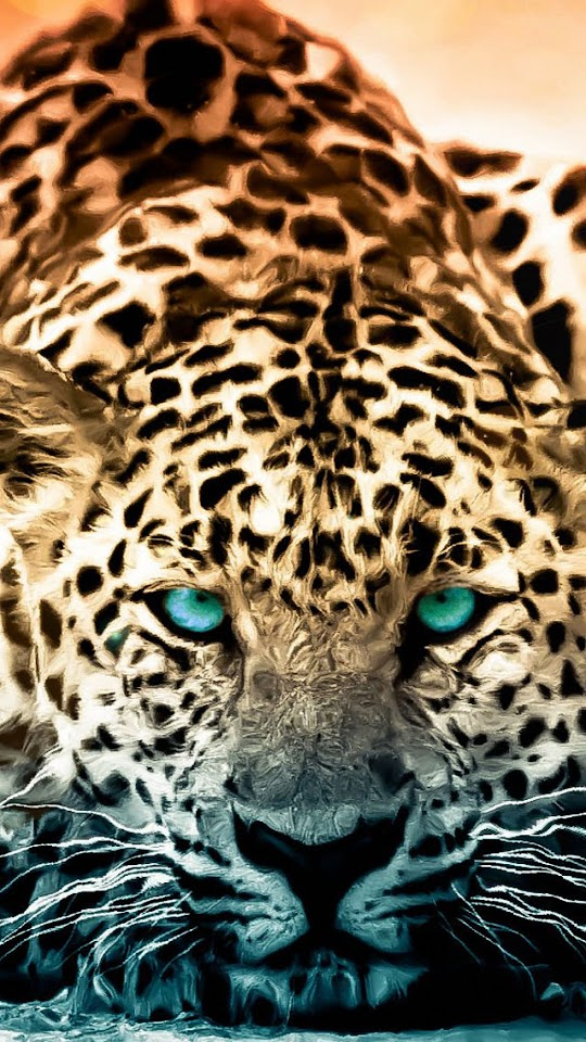Android Best Wallpapers Leopard Green Eyes Android Best