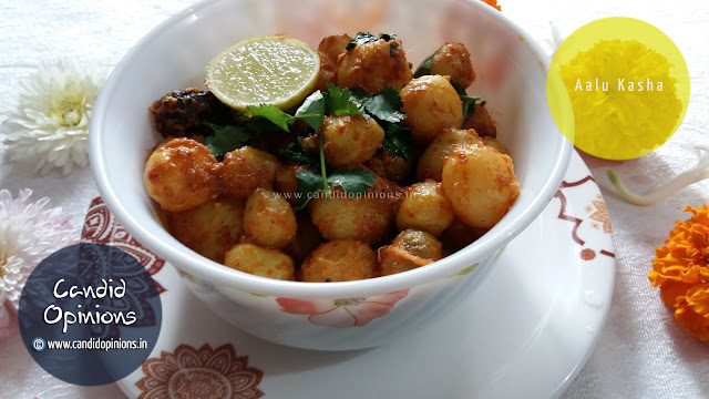 Aalu Kasha with Baby Potatoes