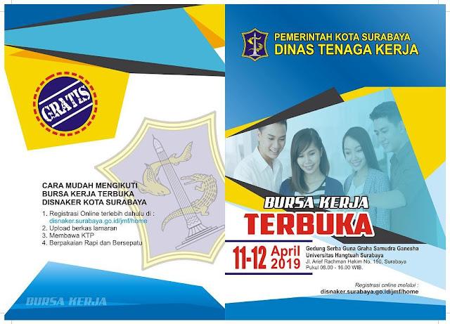 Job Fair DISNAKER Kota Surabaya