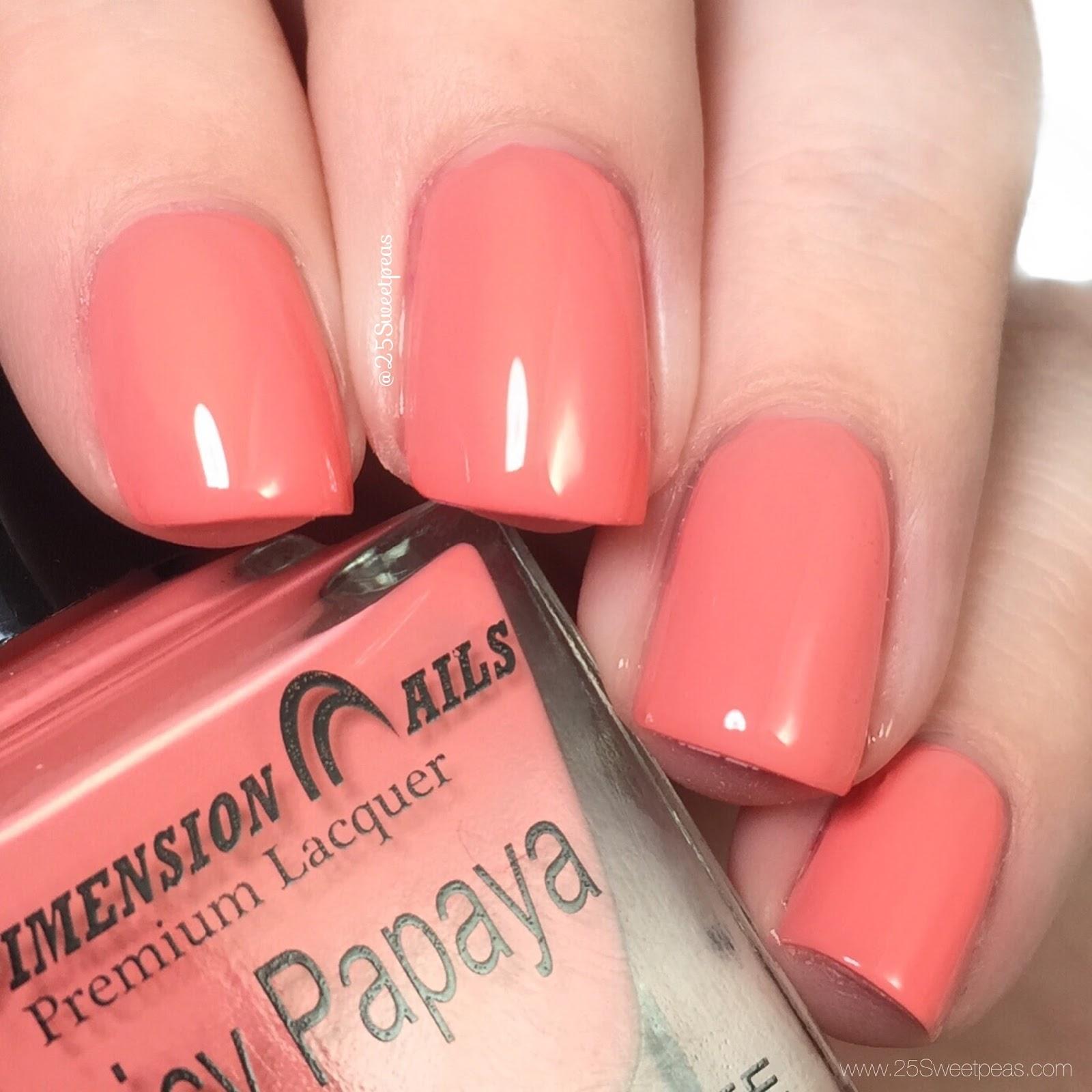Dimension Nails Juicy Papaya