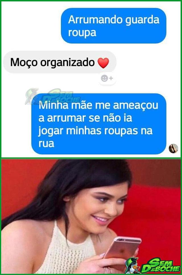 AMEAÇA DE MÃE DÁ MEDO