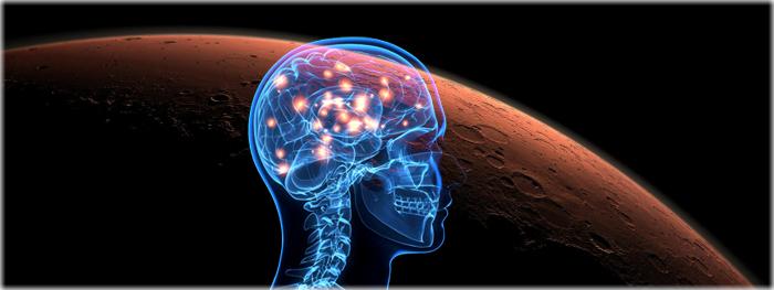 viagem a marte pode danificar cérebro