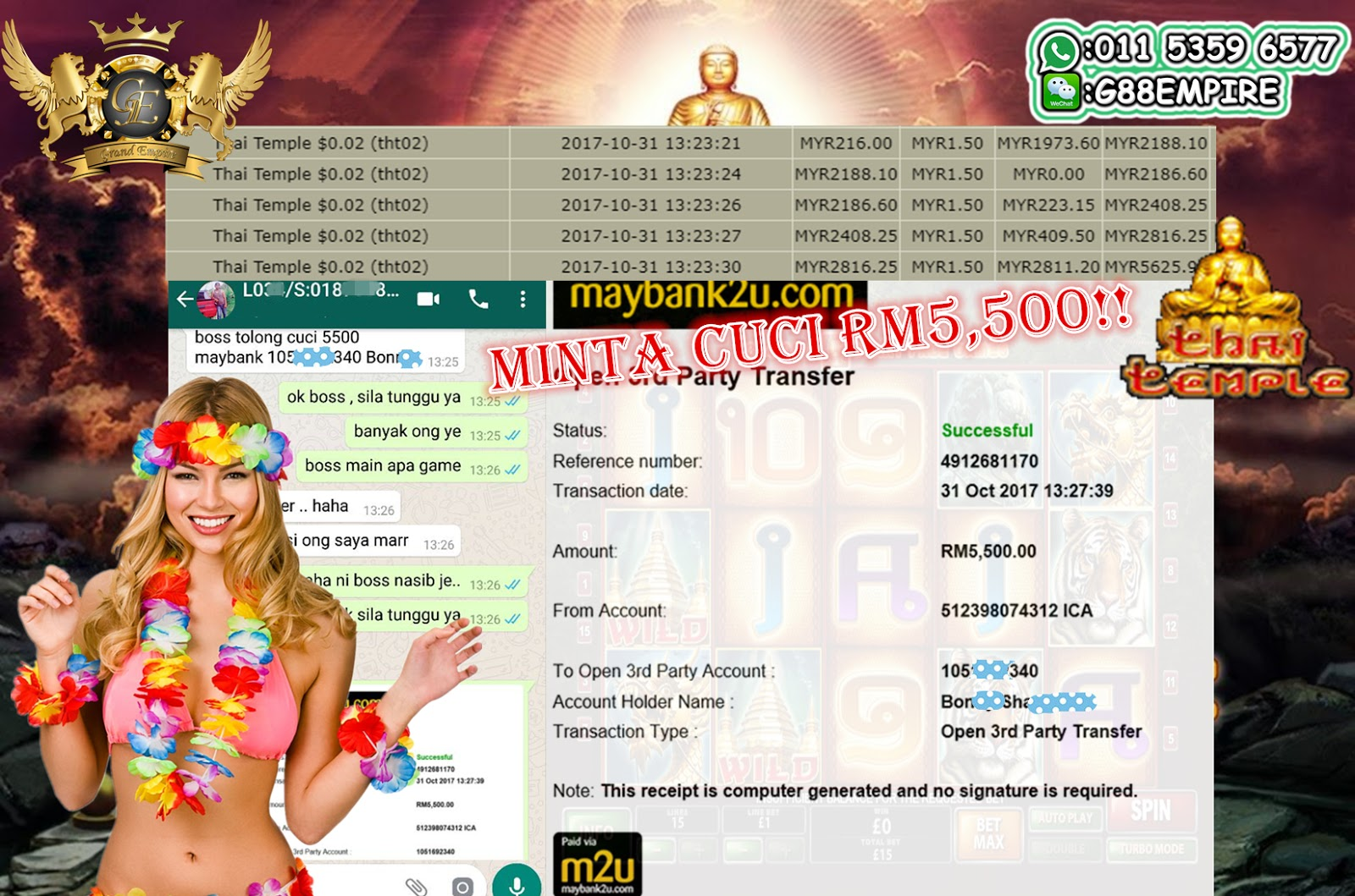 Grand Empire   | Malaysia Online Casino | Live | Slot