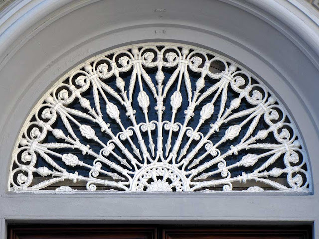Fanlight window, front door, Livorno