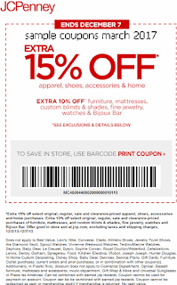 free JCPenney coupons march 2017