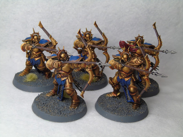 stormcast judicators aos eternals gold blue