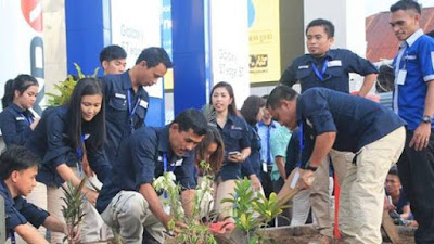 Earth Day, itCenter Manado Dukung Penuh