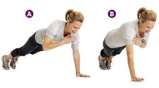 plank shoulder tap