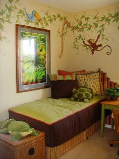 Habitación decorada niña