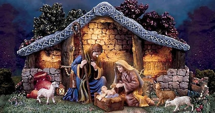THE CRÈCHE AND THE CROSS