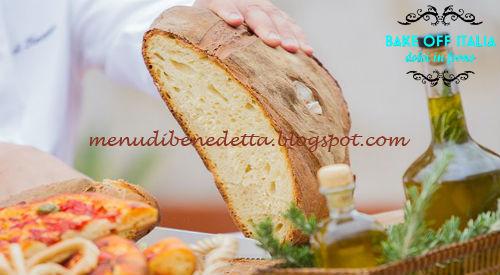 Pane di Altamura e taralli dolci e salati ricetta Antonio Lamberto Martino da Bake Off Italia 4