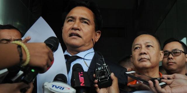 Timses Jokowi: Yusril ahli hukum tak mungkin bicara suatu yang kosong