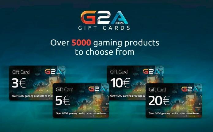 g2a gift card codes