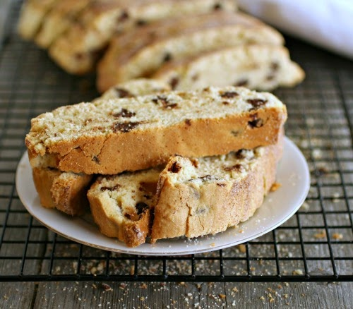 Passover Chocolate Chip Mandel Bread