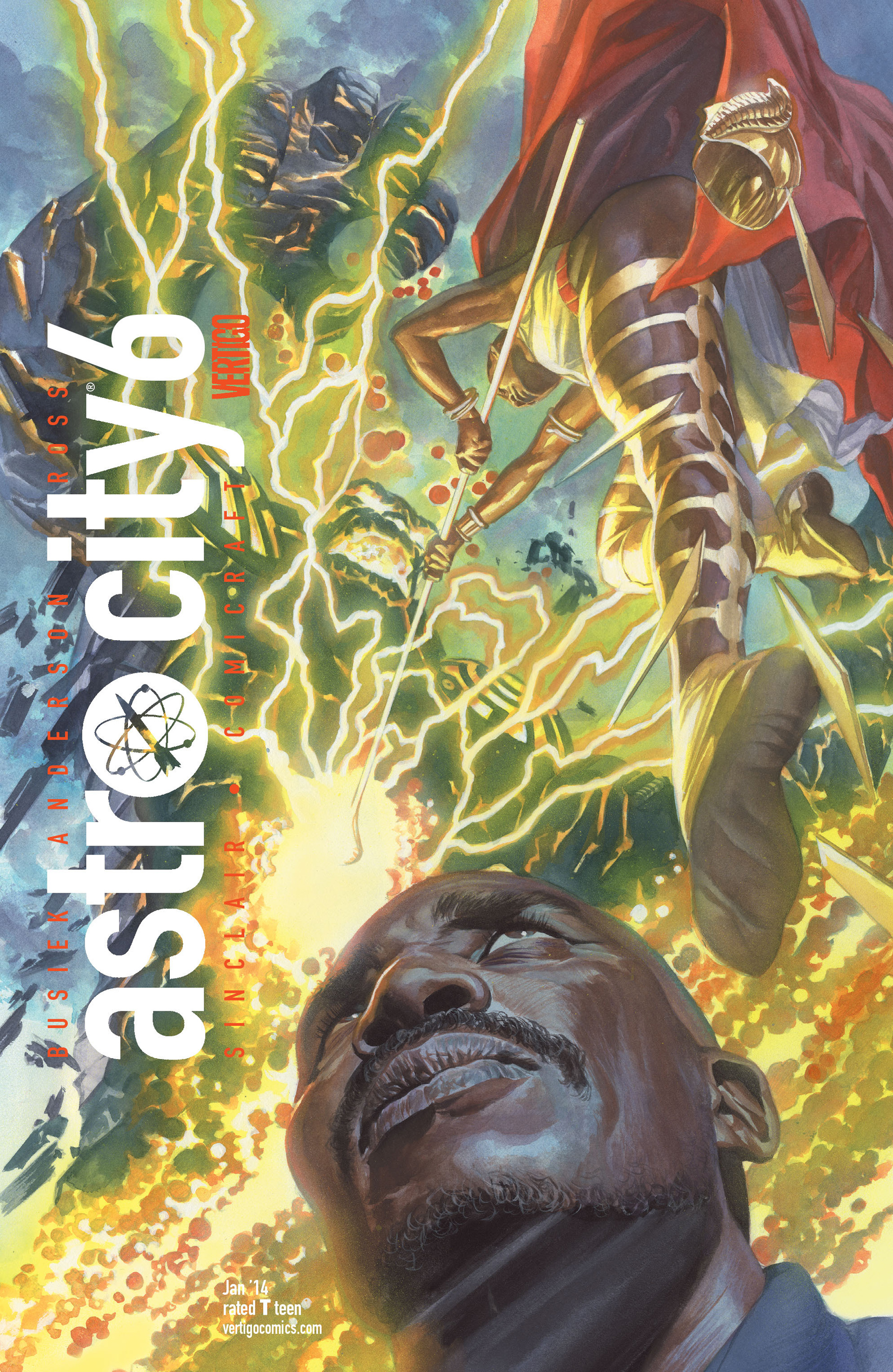 Astro City issue 6 - Page 1