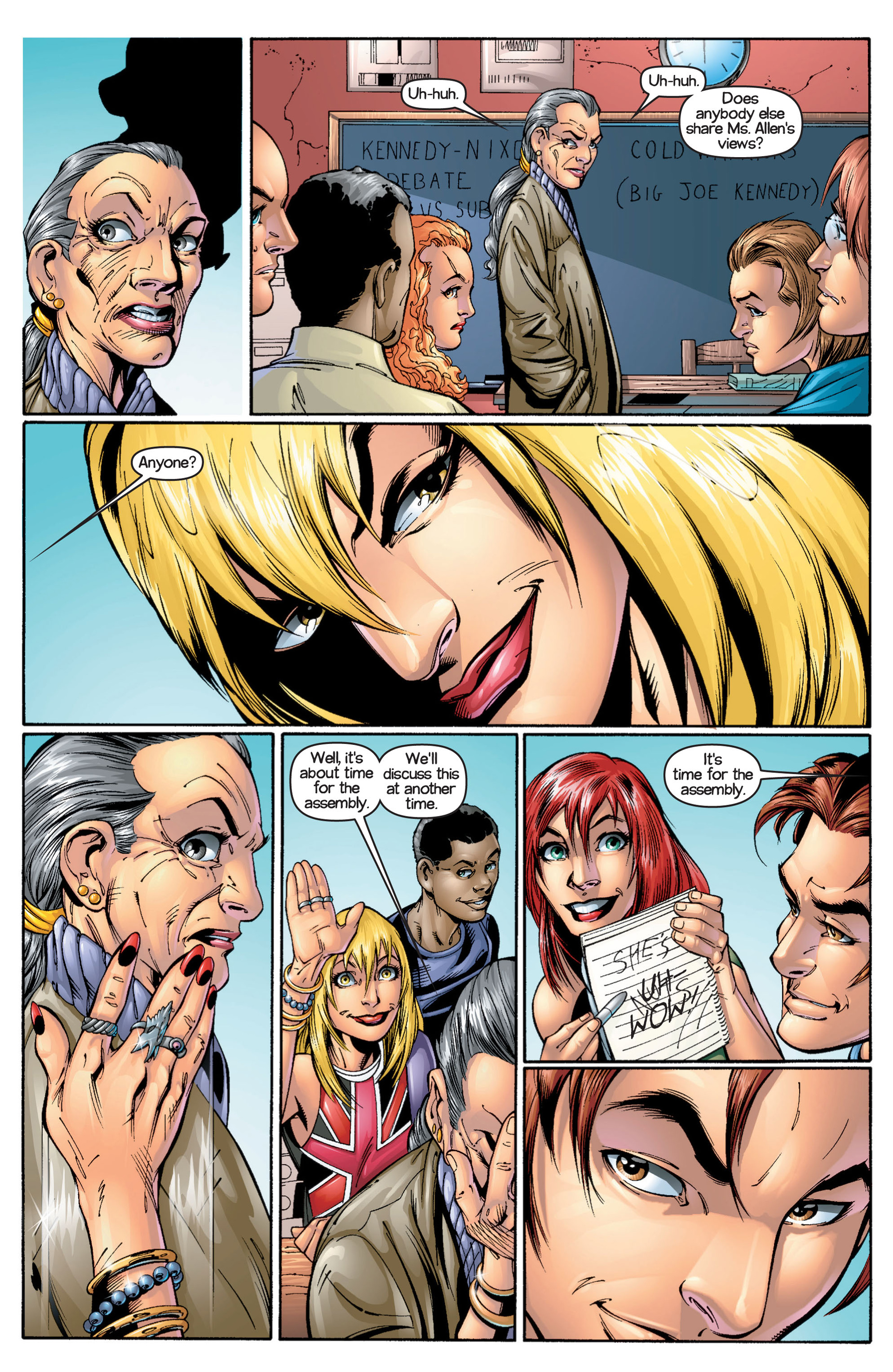 Read online Ultimate Spider-Man (2000) comic -  Issue #17 - 10