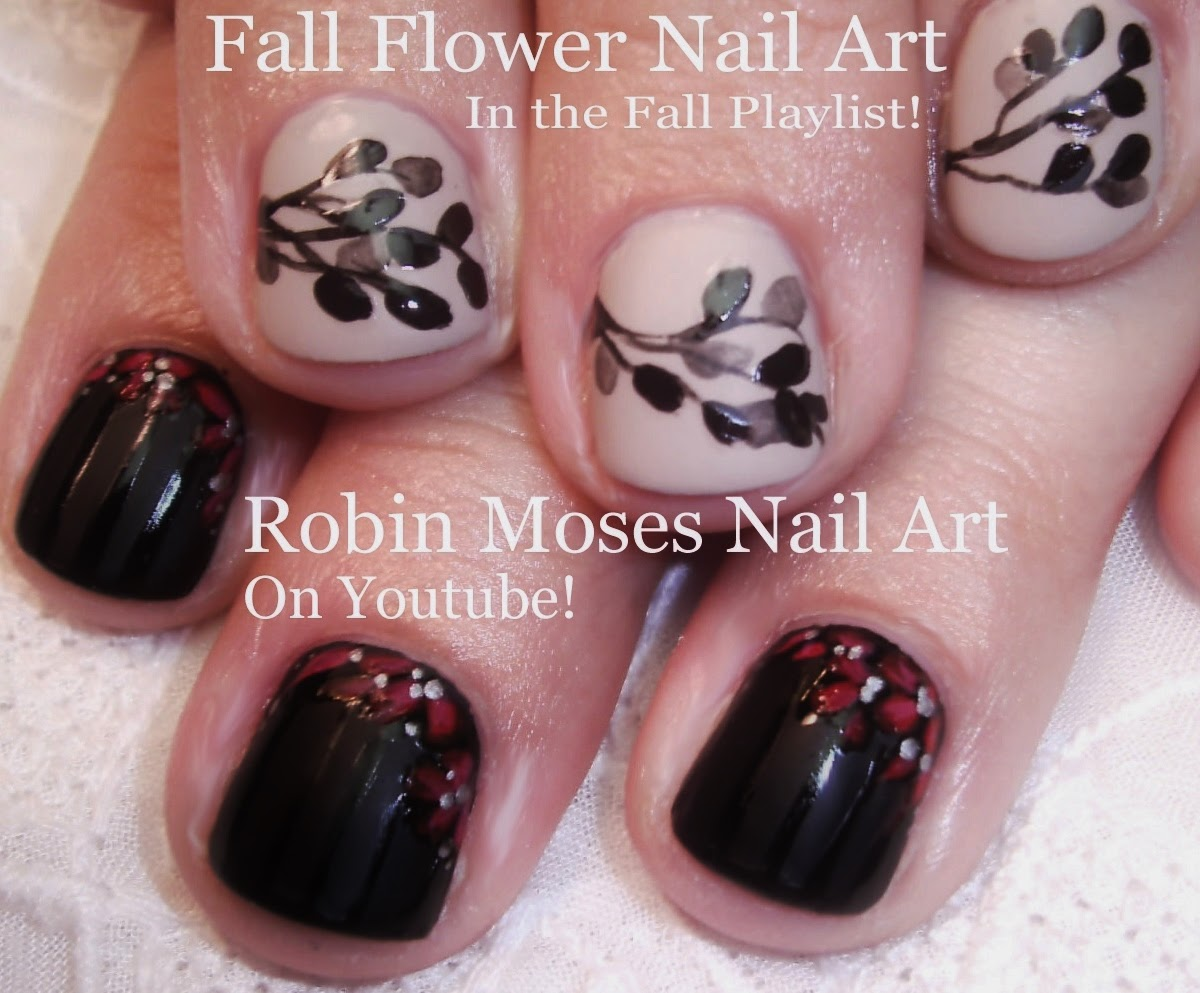 "Robin Moses Nail Art: ""fall leaves"" ""fall nail art"" ""fall ..."
