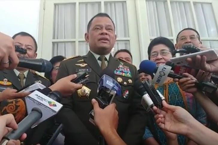 Gatot Pamitan Dengan Prajurit Kopassus: Kalian Prajurit Hebat !!