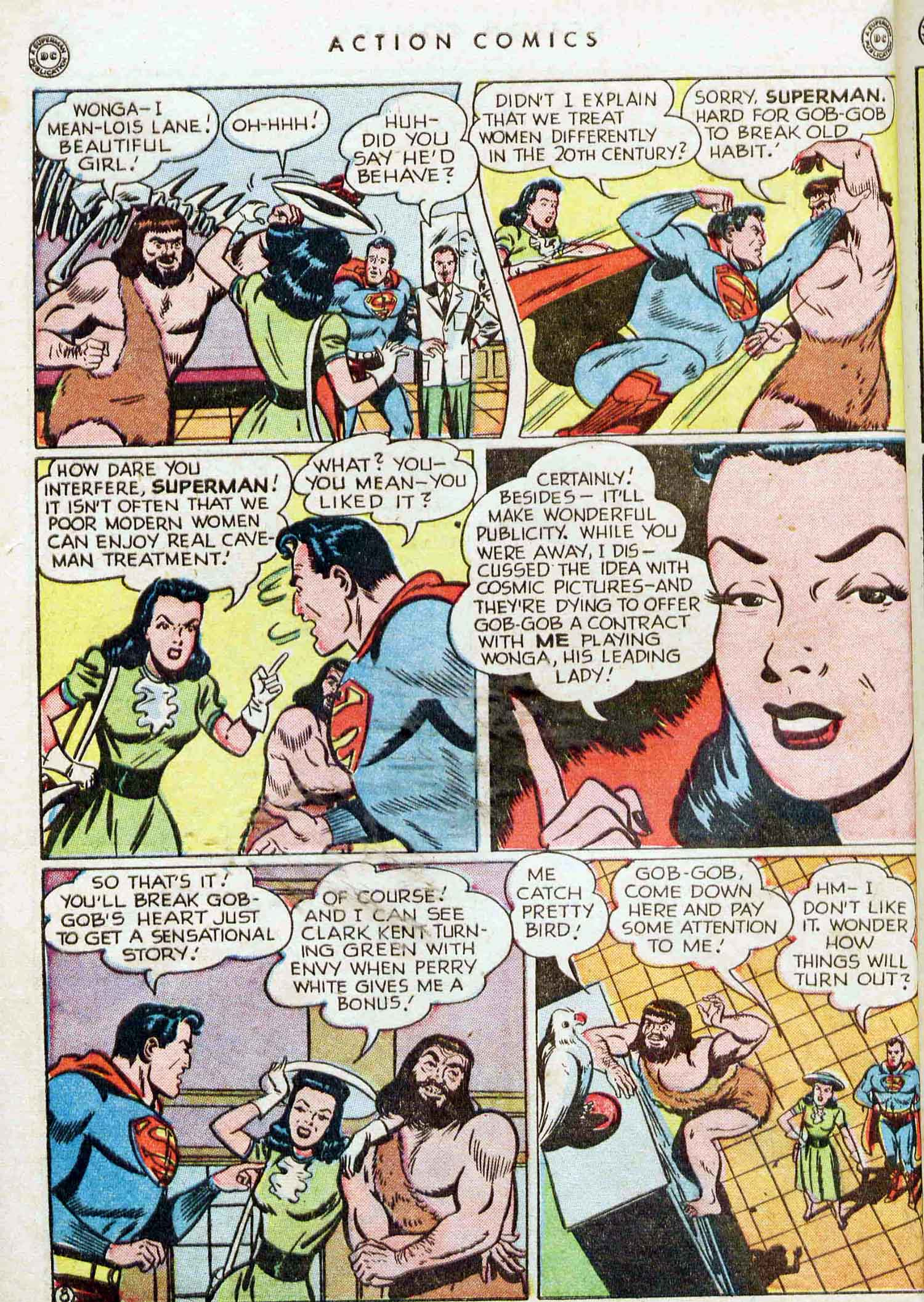Read online Action Comics (1938) comic -  Issue #129 - 9