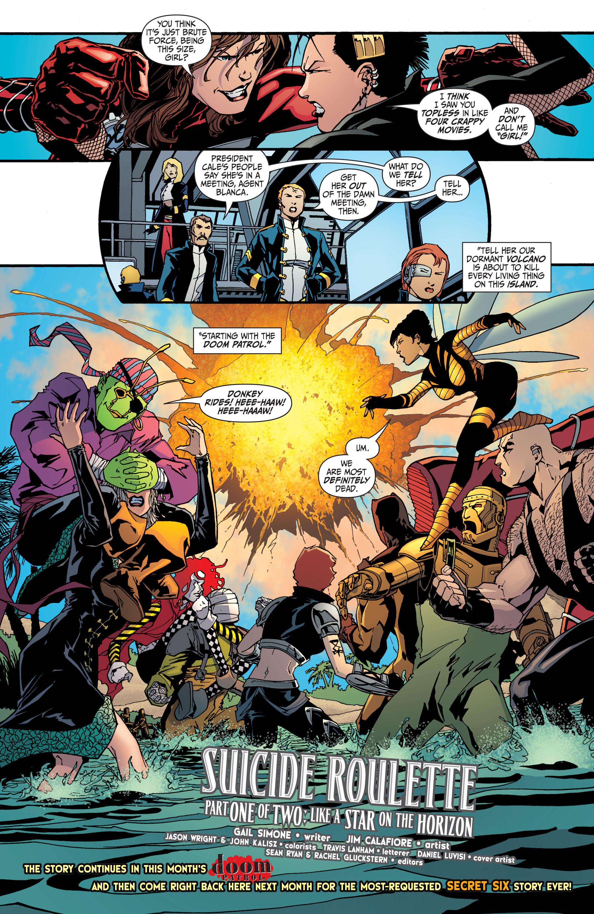 Read online Secret Six (2008) comic -  Issue #30 - 21