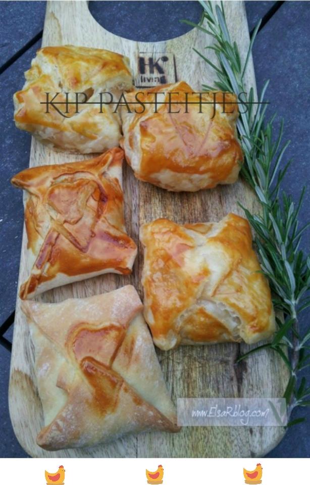 Kip Pasteitjes - Recept uit Portugal.