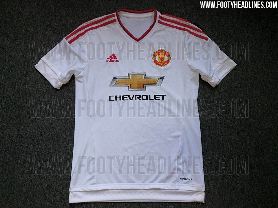 best sneakers 8dde5 3a9dd Manchester United Away, 3rd and Training Kits for 2015-16 ...