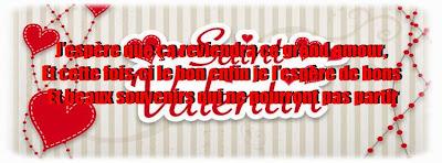 Sms d'amour pour valentin 2015