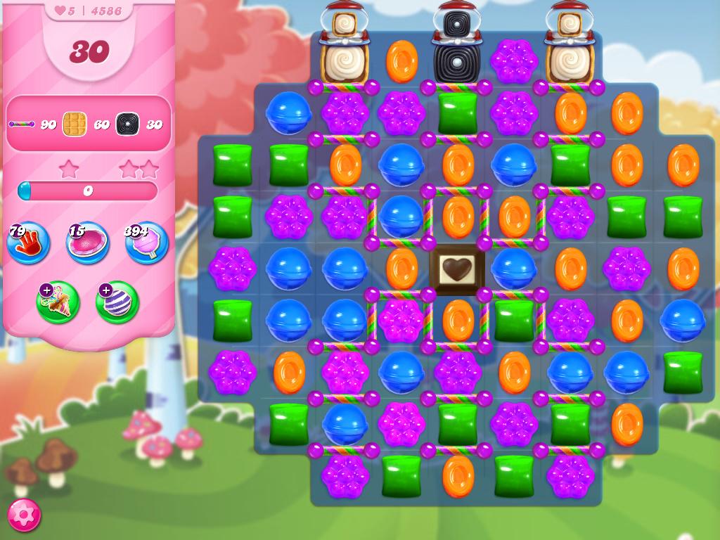 Candy Crush Saga level 4586