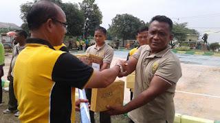 Dandim 0616 Danramil Kapolsek Camat Senam Sehat Di Cikedung