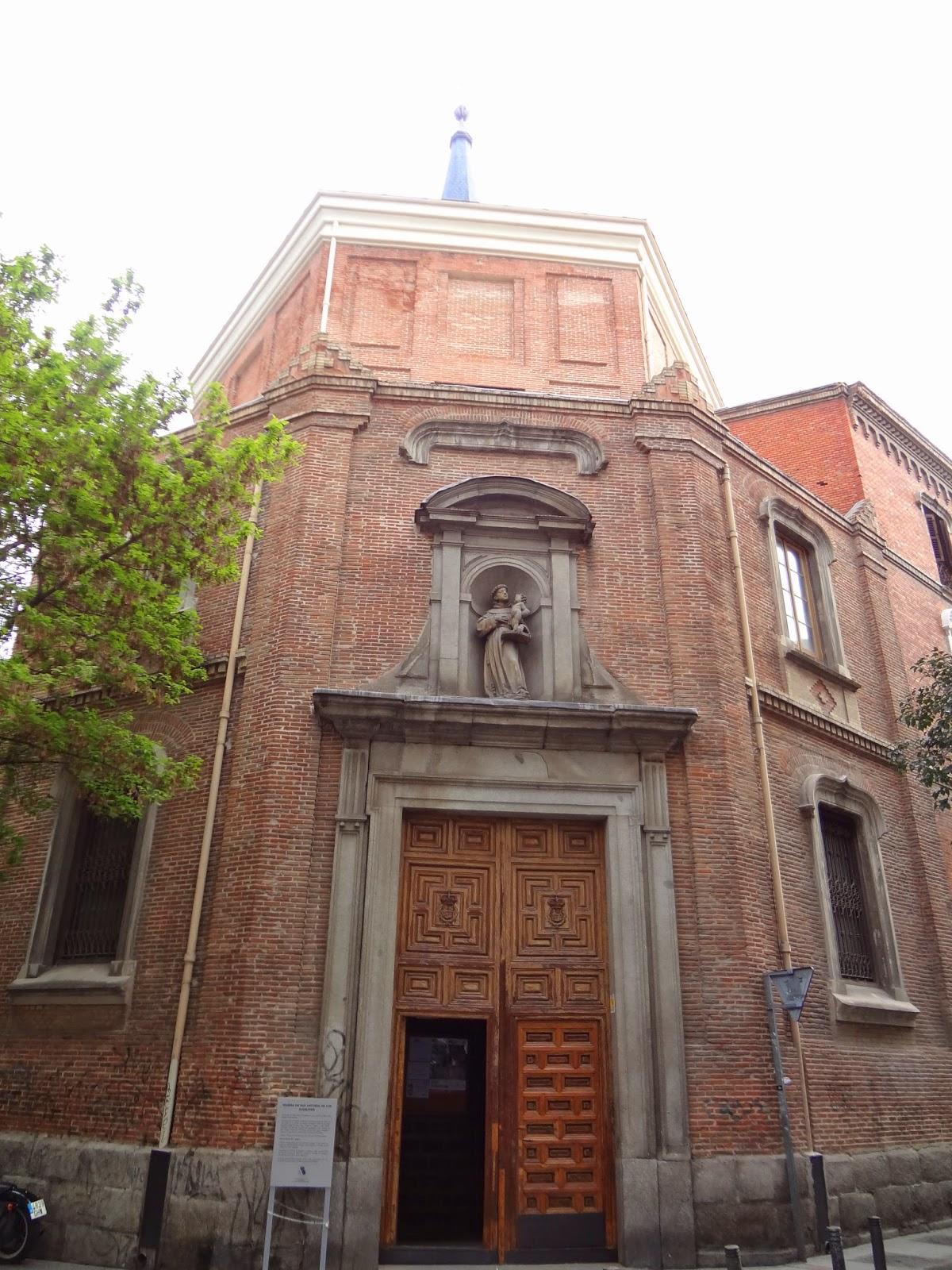 Exterior de San Antonio de los Alemanes