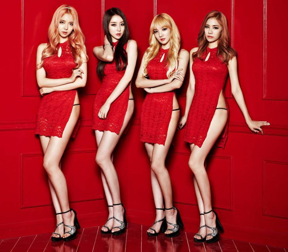 girlband super seksi dan panas korea, yakni Stellar tidak di bayar