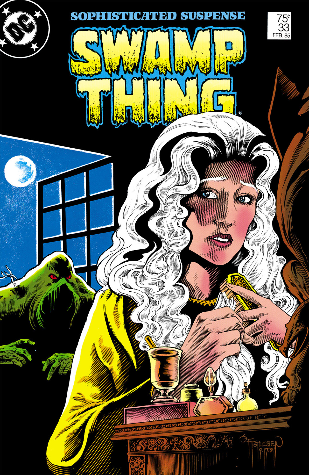Swamp Thing (1982) Issue #33 #41 - English 1