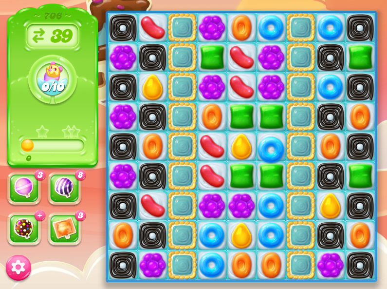 Candy Crush Jelly Saga level 706