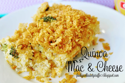 quinoa mac & cheese