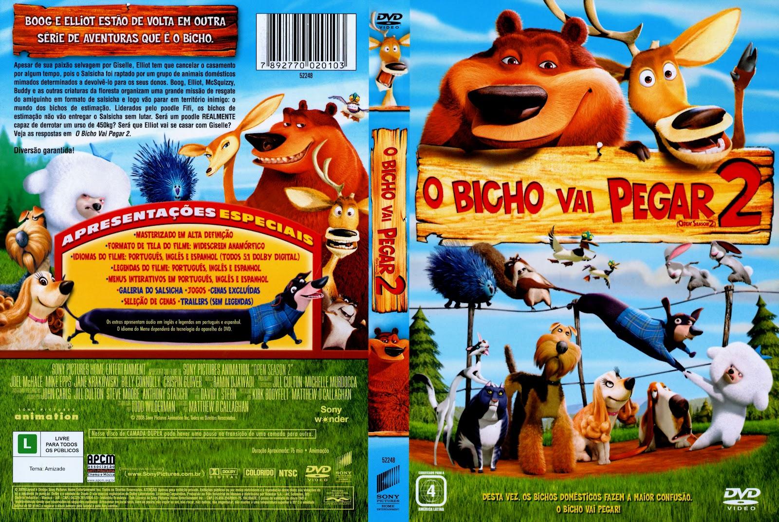 Capas Medina Somente Capas De Dvd O Bicho Vai Pegar 2