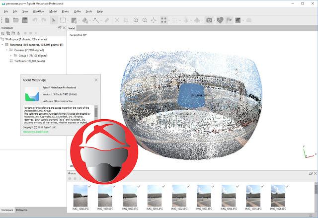 Agisoft Metashape Pro v1.5.0