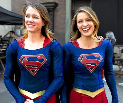 Stuntwoman Supergirl