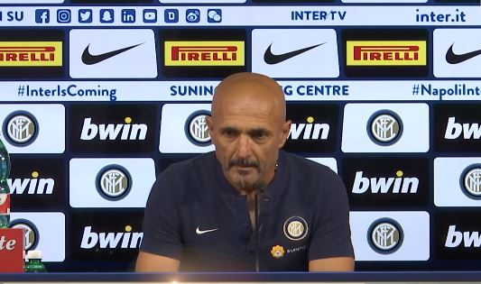 La conferenza di Spalletti pre Inter Sampdoria