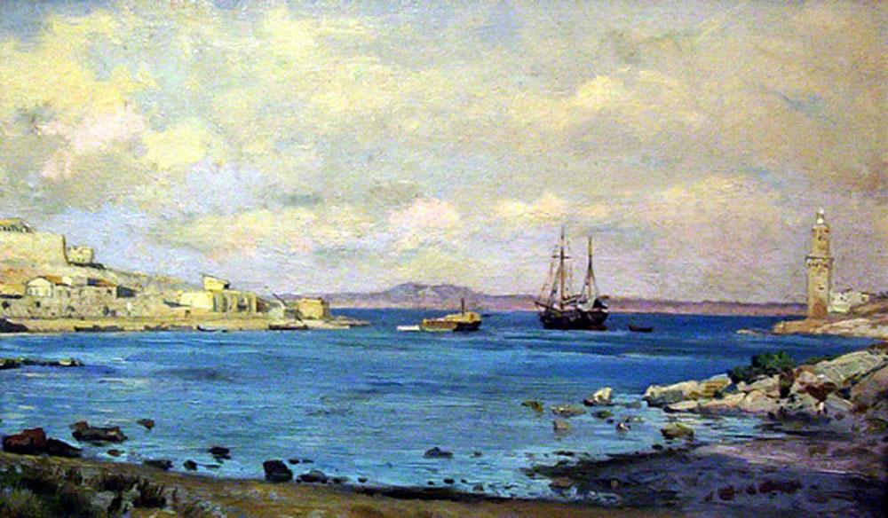Mallorca en pintura antonio ribas prats 1883 1931 for Francisco peluqueros porto pi