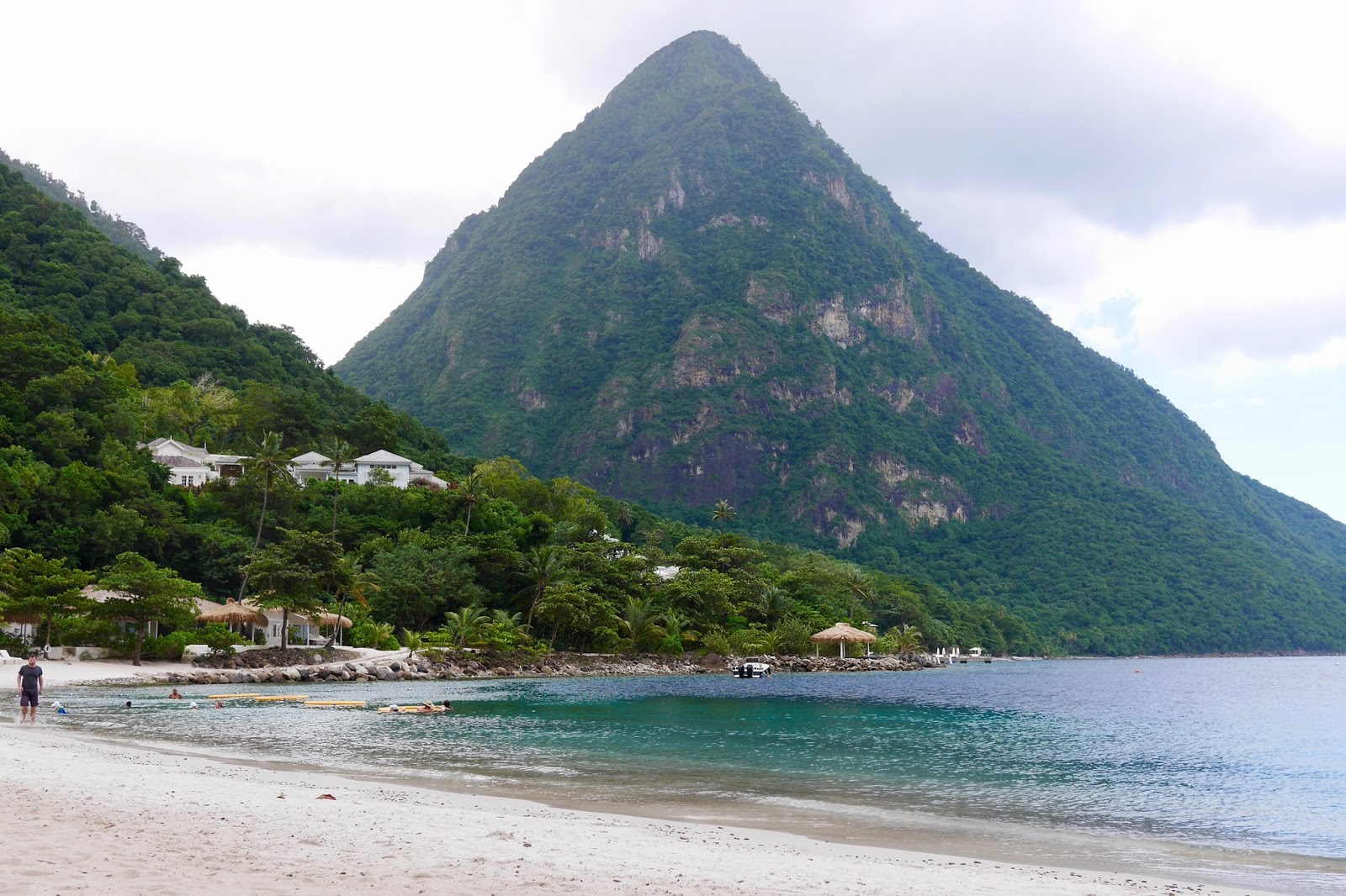 Sugar Beach, Soufrière, St Lucia by www.CalMcTravels.com