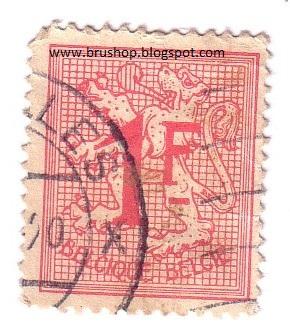 Bru Shop Online Available Belcique Belgie Stamp