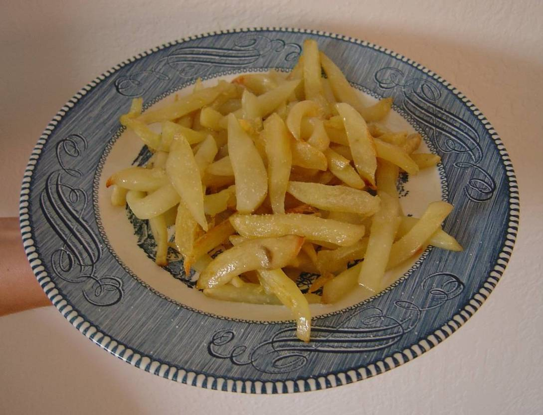 Low-Cal Oven French Fries