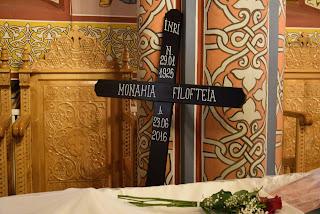 Priveghiul Monahiei Filofteia, Manastirea Floresti-Cluj
