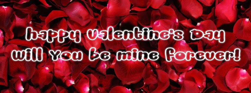 Red Roses Valentine's Day Facebook Profile Timeline Cover
