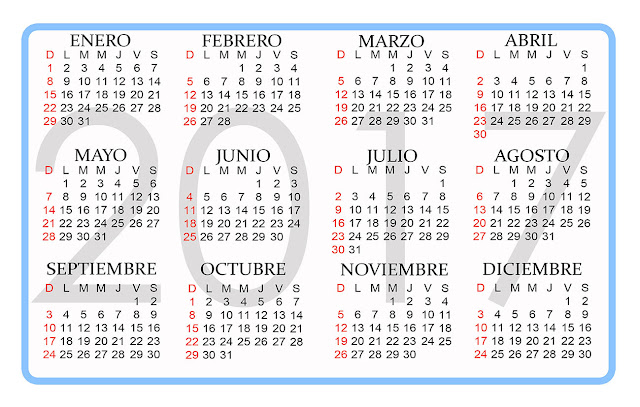 clasico Es 1605 L additionally 2017 Para Imprimir Calendarios Gratis ...