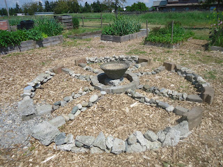 May in the Ladner Community Garden