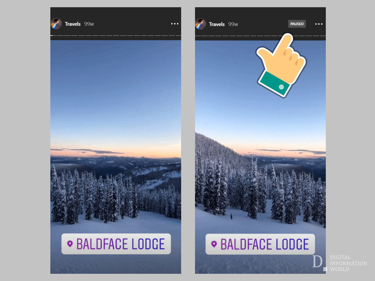Good news Instagram stalkers, the app is testing the ability to pause a Story forever by just a single tap of your finger. Handy feature for those users who consume certain Stories for a prolonged period of time.