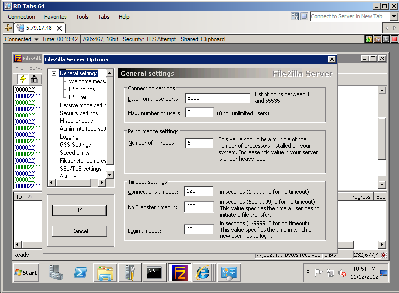 The Systems Engineer organized chaos: Does IPv4 based FTPS server