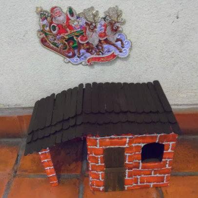 casa para el nacimiento